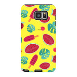 Summer-pattern-Yellow-phone-case-Samsung Blast Case PRO For Samsung Galaxy Note 5