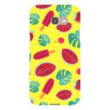 Summer-pattern-Yellow-phone-case-Samsung Blast Case LITE For Samsung A5 - 2017 Model