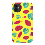 Summer-pattern-Yellow-phone-case- IPhone Blast Case LITE For iPhone 11