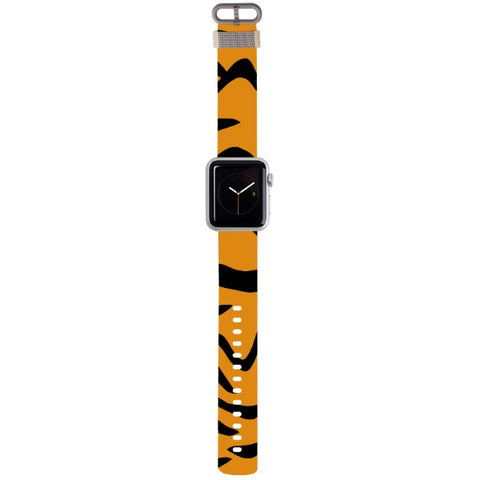 WATCH STRAP - Tiger for apple watch 38 mm in Nylon