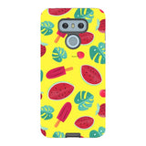 Summer-pattern-Yellow-phone-case-LG Blast Case PRO For LG G6