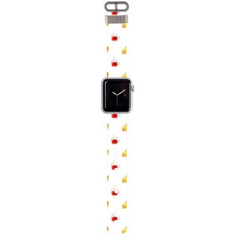 WATCH STRAP - Tea Time for apple watch 38 mm in Nylon