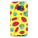 Summer-pattern-Yellow-phone-case-Samsung Blast Case PRO For Samsung Galaxy S7