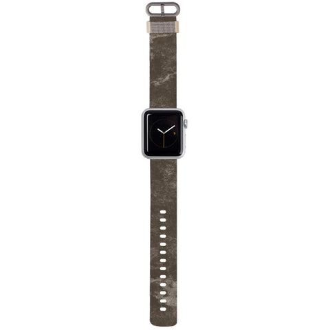 WATCH STRAP - Marble - dark grey for apple watch 38 mm in Nylon