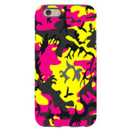 Camo-Pink-Yellow-phone-case-IPhone Blast Case PRO For iPhone 6