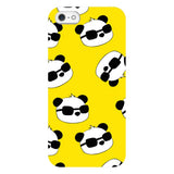 panda-Yellow-phone-case-IPhone Blast Case LITE For iPhone SE