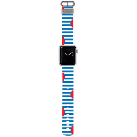 WATCH STRAP - Sailor for apple watch 38 mm in Nylon