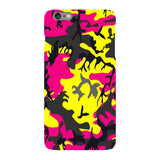 Camo-Pink-Yellow-phone-case-IPhone Blast Case LITE For iPhone 6S Plus