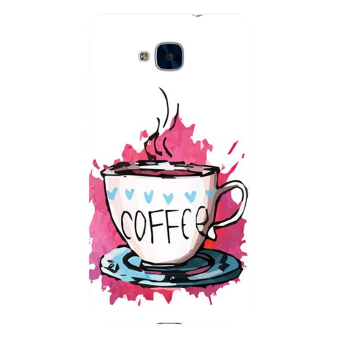Coffee-illustration-phone-case-Huawei Blast Case LITE For Huawei Honor 5C