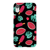 Summer-pattern-black-phone-case- IPhone Blast Case LITE For iPhone XR