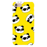 panda-Yellow-phone-case-IPhone Blast Case LITE For iPhone 8