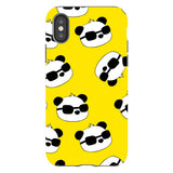 panda-Yellow-phone-case-IPhone Blast Case PRO For iPhone X