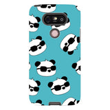 panda-Light-Blue-phone-case-LG Blast Case PRO For LG G5