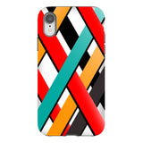 Line-pattern-White-phone-case-IPhone Blast Case PRO For iPhone XR