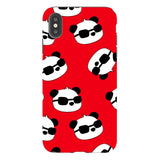 panda-Red-phone-case-IPhone Blast Case PRO For iPhone XS Max
