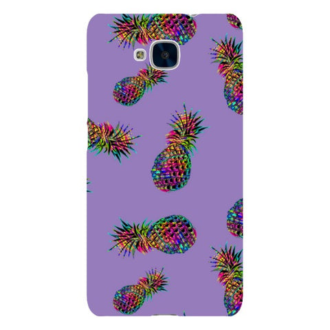 Radioactive-Pineapple-Light-Purple-phone-case-Huawei Blast Case LITE For Huawei Honor 5C