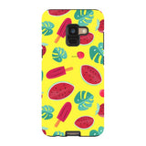 Summer-pattern-Yellow-phone-case-Samsung Blast Case PRO For Samsung A8
