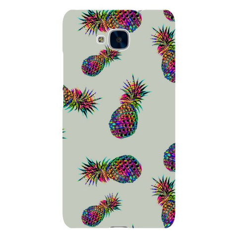 Radioactive-Pineapple-Light-Grey-phone-case-Huawei Blast Case LITE For Huawei Honor 5C