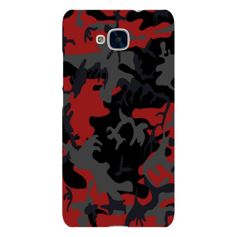 Camo-Red-phone-case-Huawei Blast Case LITE For Huawei Honor 5C