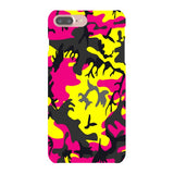 Camo-Pink-Yellow-phone-case-IPhone Blast Case LITE For iPhone 8 Plus