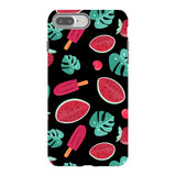 Summer-pattern-black-phone-case- IPhone Blast Case PRO For iPhone 8 Plus