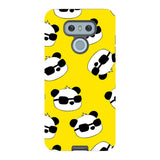 panda-Yellow-phone-case-LG Blast Case PRO For LG G6