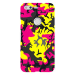Camo-Pink-Yellow-phone-case-Google-Pixel Blast Case LITE For Google Pixel
