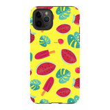 Summer-pattern-Yellow-phone-case- IPhone Blast Case PRO For iPhone 11 Pro Max