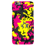 Camo-Pink-Yellow-phone-case-IPhone Blast Case LITE For iPhone 6S