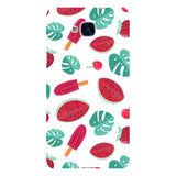Summer-pattern-White-phone-case-Huawei Blast Case LITE For Huawei Honor 5C