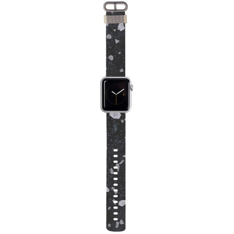 WATCH STRAP - Merble - Stained Grey for apple watch 38 mm in Nylon