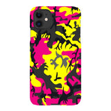 Camo-Pink-Yellow-phone-case-IPhone Blast Case LITE For iPhone 11