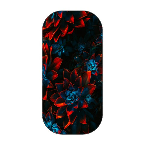CLICKIT - Flowers - stained bluephone holder