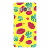 Summer-pattern-Yellow-phone-case-Samsung Blast Case LITE For Samsung Galaxy J5 - 2016 Model