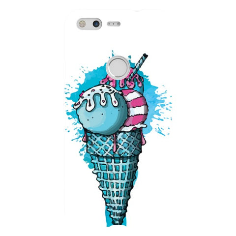 Ice-Cream-illustration-phone-case-Google-Pixel Blast Case LITE For Google Pixel