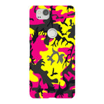 Camo-Pink-Yellow-phone-case-Google-Pixel Blast Case LITE For Google Pixel 2