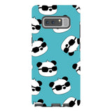 panda-Light-Blue-phone-case-Samsung Blast Case PRO For Samsung Galaxy Note 8