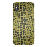 CROCODILE-skin-phone-case- IPhone Blast Case LITE For iPhone X