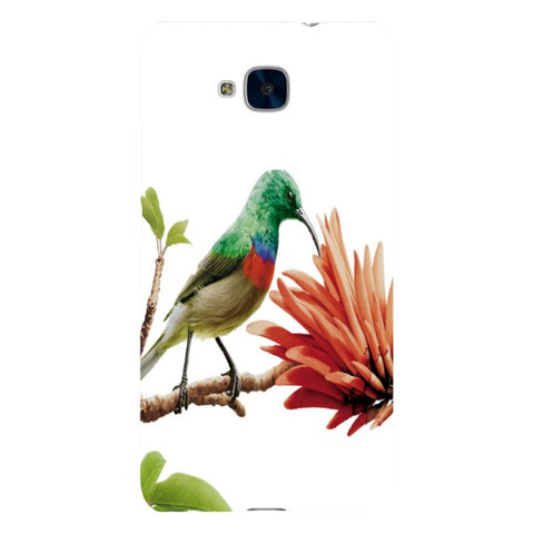 Bird-on-a-leaf-phone-case-Huawei Blast Case LITE For Huawei Honor 5C