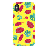 Summer-pattern-Yellow-phone-case- IPhone Blast Case LITE For iPhone X
