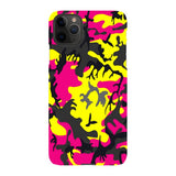 Camo-Pink-Yellow-phone-case-IPhone Blast Case LITE For iPhone 11 Pro Max
