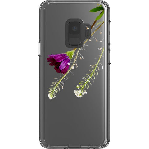purple-rose-transparent-phone-case Blast Case Style Type B For Samsung Galaxy S9