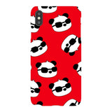 panda-Red-phone-case-IPhone Blast Case LITE For iPhone XS Max