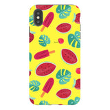 Summer-pattern-Yellow-phone-case- IPhone Blast Case PRO For iPhone XS Max