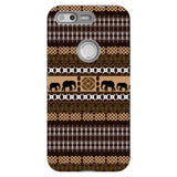 Africa-Elephant-phone-case-Google-Pixel Blast Case PRO For Google Pixel
