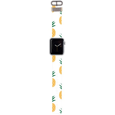 WATCH STRAP - Pinapple for apple watch 38 mm in Nylon