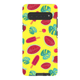 Summer-pattern-Yellow-phone-case-Samsung Blast Case PRO For Samsung Galaxy S10 5G