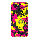 Camo-Pink-Yellow-phone-case-Google-Pixel Blast Case LITE For Google Pixel 3XL