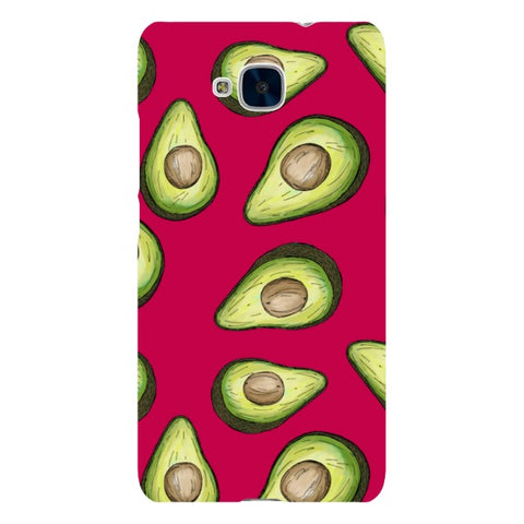 Guacamole-Light-Purple-phone-case-Huawei Blast Case LITE For Huawei Honor 5C