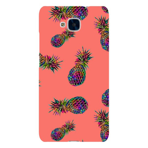 Radioactive-Pineapple-Light-Pink-phone-case-Huawei Blast Case LITE For Huawei Honor 5C
